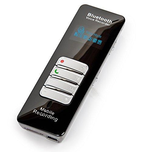 Digitales Diktiergerät DVR-188 mit Bluetooth® – Fernaufnahmen von Telefongesprächen