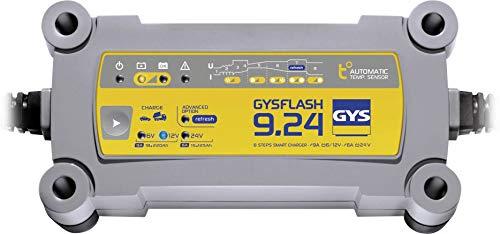 Chargeur automatique GYS GYSFLASH 9.24 029477 6 V, 12 V, 24 V 9 A 9 A 6 A 1 pc(s)