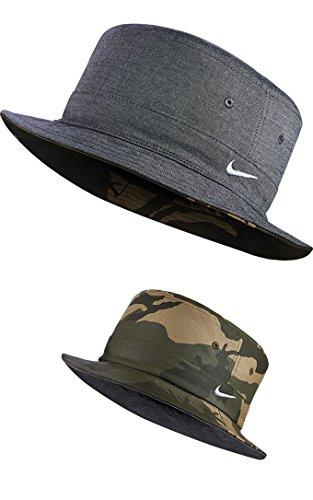 Nike Golf Reversible Bucket Hat, Herren, Ocean Fog (Cap Reversible Nike)