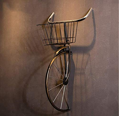 QBDS Decorazione Vintage da Parete Vintage in Ferro battuto per Biciclette Decorazione da Bar Ristorante Ciondolo Decorativo (Colore : A)