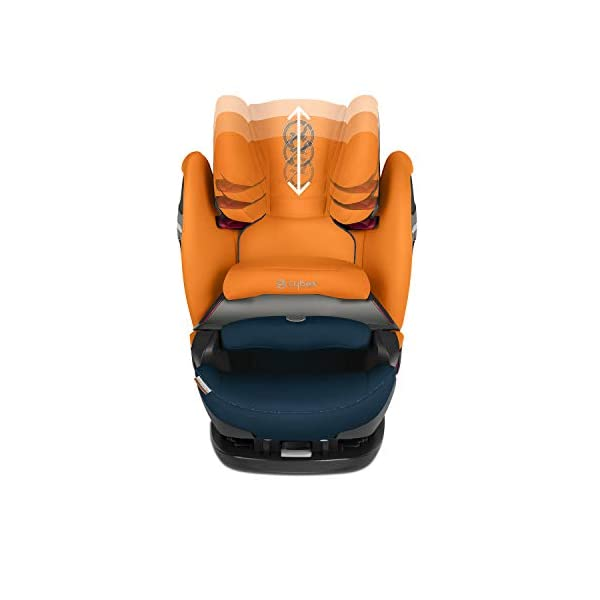 CYBEX Gold Pallas S-Fix 2-in-1 Child's Car Seat, For Cars with and without ISOFIX, Group 1/2/3 (9-36 kg), From approx. 9 Months to approx. 12 Years, Premium Black Cybex Sturdy and high-quality child car seat for long-term use - For children aged approx. 9 months to approx. 12 years (9-36 kg), Suitable for cars with and without ISOFIX Maximum safety - Depth-adjustable impact shield, 3-way adjustable reclining headrest, Built-in side impact protection (L.S.P. System), Energy-absorbing shell 12-way height-adjustable comfort headrest, One-hand adjustable reclining position, Easy conversion to Solution S-Fix car seat for children 3 years and older (group 2/3) by removing impact shield and base 6