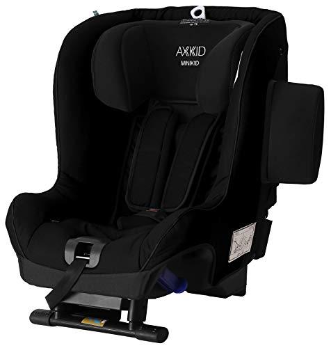 Axkid Minikid 2.0 Kindersitz Reboarder 0-25KG Ohne Isofix Inkl. Sitzverkleinerer Seitenaufprallschutz (black)
