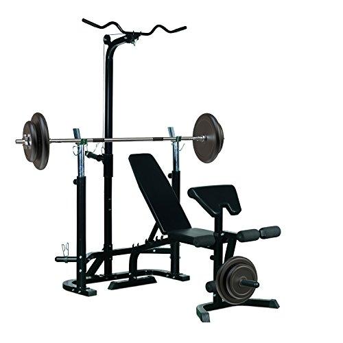 Bancs De Musculation Homcom 3662970015155 Moins Cher En Ligne Sportkif