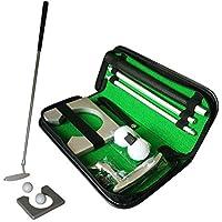 Borstu Golf Putter Training Kit 3 Piezas Mano Derecha Golf Putting Trainer Gift Set Accesorios de Golf para Hombres Adultos Papá Marido