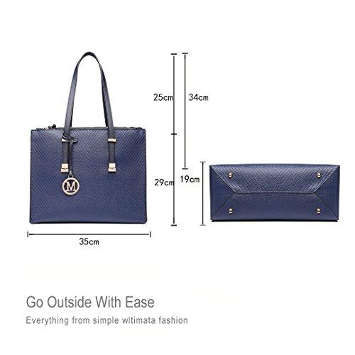 Miss Lulu ,  Damen Tasche 6636 Navy