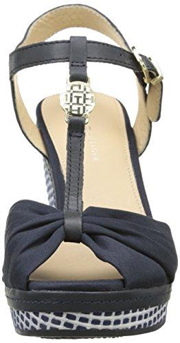 Tommy Hilfiger Elena 19d, Chaussures à Semelles Femme Noir (403)