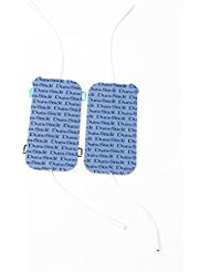Compex - Elettrodi Wire 5 x 10, cavo dual blu