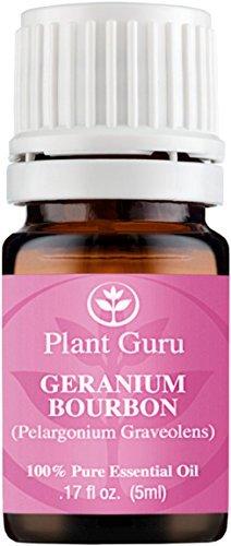 Geranio Bourbon-Aceite Esencial 100% puro puro