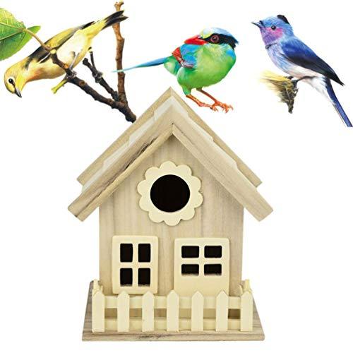 Diadia Bird Hut Repos Douillette pour Oiseaux – Peut Abriter à partir de Temps Froid – Nest DOX Nest House Bird House, idéal pour Finch et canari