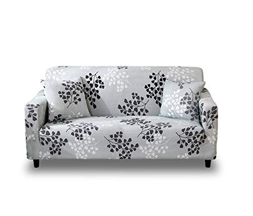 Stoff Sofa, Sofa Loveseat Sessel (Minzhu Stretch Sofa Couch Überzug Muster Spannbettlaken Sessel Loveseat Schonbezug Universal Elastic Stoff Sofa Sofa Sofa Sofa Sofa, 3-Sitzer)
