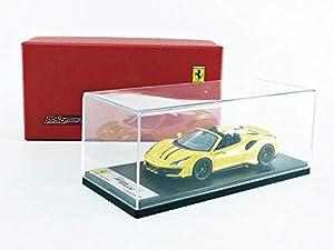 LOOKSMART LS496D - Coche en Miniatura, Color Amarillo y Negro
