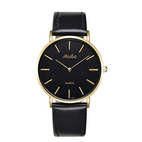 S/s Tabelle (Sarazong Mode einfache Uhr, Männer und Frauen Paar Uhr Mode Uhr einfache männliche und weibliche Studenten Konzept Tabelle Armbanduhr Freizeit Uhr Uhren für Paar,S)