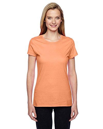 Fruit of the Loom - T-shirt - Femme Orange