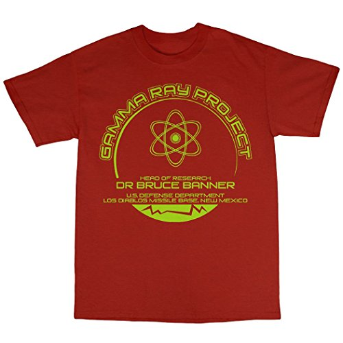 Gamma Ray Project T-Shirt Baumwolle Rot