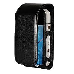 EximMobile - Tasche für IQOS Schutz Case in schwarz Schutzhülle Schutztasche Etui Cover Bag