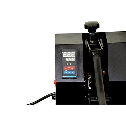HobbyCut H001-S Transferpresse 60cm x 40cm Textilpresse 2800 Watt - 4