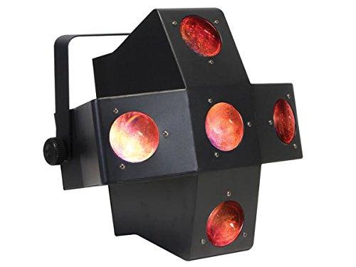 HQ Power VDPL300CD Ellison, LED Flower-Effekt, mit 5 Linsen-Dmx-Steuerung (Flower-effekt)