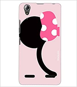 PrintDhaba Minnie Mouse D-1997 Back Case Cover for LENOVO A6000 (Multi-Coloured)