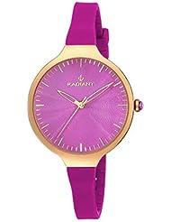 Radiant New - Reloj de mujer con correa de caucho color fucsia - RA336603