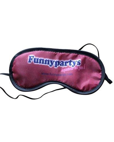 "Augenmaske ""Funnypartys.com"" Augenbinde der Marke Funnypartys Blindfold Schlafbrille in purple"
