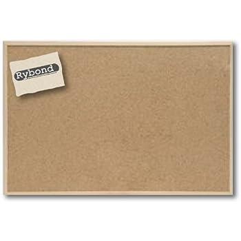 Rybond Notice Board, Display Board, Bulletin Board, Cork Board Pine ...
