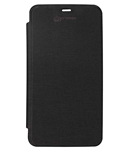 TBZ Flip Cover Case for Micromax Canvas Juice A177 / A77 -Black  available at amazon for Rs.140