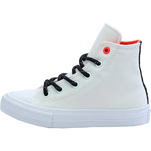 Converse Chuck Taylor All Star II Shield Canvas White Textile Junior Trainers White
