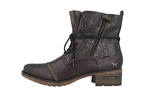 MUSTANG Shoes Stiefeletten in Übergrößen Braun 1229-508-303 große Damenschuhe, Größe:44