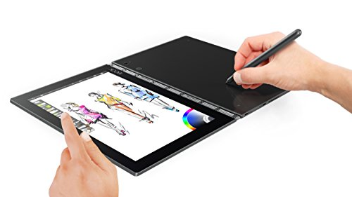 Lenovo Yoga Book ZA0V0035US Tablet (64GB, 10.1 Inches) Gunmetal Grey, 4GB RAM Price in India