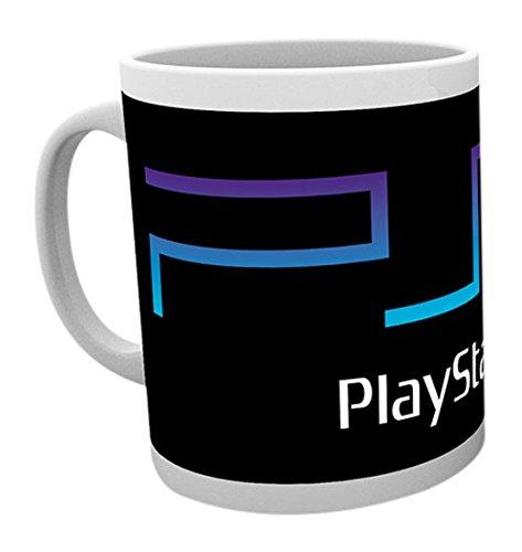 GB Eye Playstation, PS2Logo Becher, Mehrfarbig