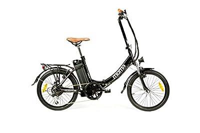 Elektrische faltbar Fahrrad VAE zu promenieren, E-20.2 Moma Bikes, Aluminium, Shimano 7V, Ion Lithium 36V 16 Ah Akku