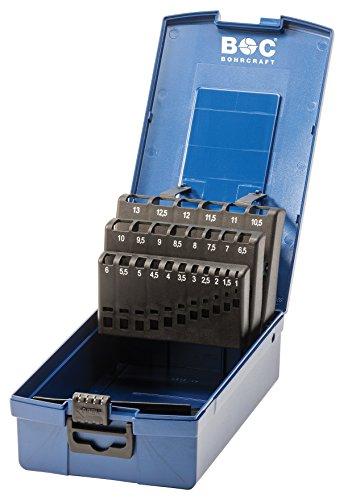 Craft 00811520025de forage de l'industrie Boîte en plastique bleu foncé KR 13vide 25pièces pour mèche spirale HSS-G DIN 338