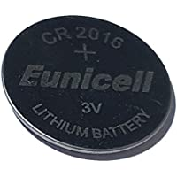2x Eunicell CR20163V Lithium Button Cell 70mAh loose Brand