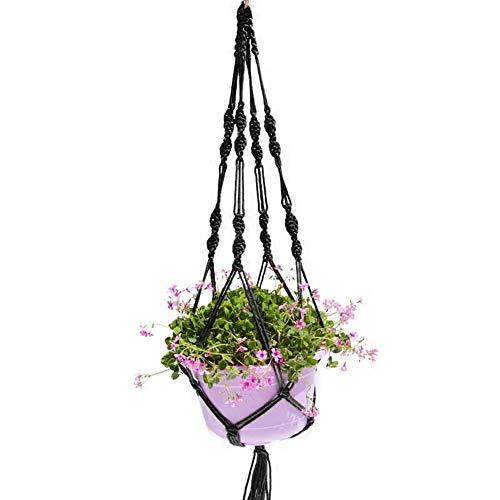 ShenYo Blumentopf-Aufhänger, Woopower 1 m Langer Hänger Blumentopf Pflanzen-Deckenhalter Hängekörbe für Innen und Außen Dekoration, a1, Free Size
