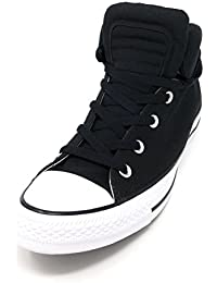 837a38d8c0c5 Converse CTAS Chuck Taylor All Star Womens Brookline Mid Black Black White  (8