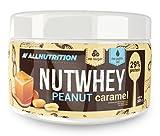 ALLNUTRITION Nutwhey Peanut Butter Erdnussbutter Aufstrich Proteine Frühstück 500g (Peanut Caramel - Erdnuss Karamell)