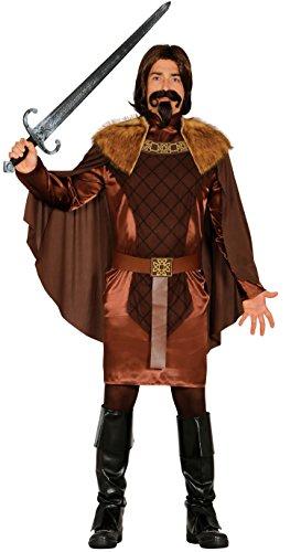 Ritter Kostüm für Herren König Herrenkostüm Karneval Fasching Märchen Gr. M - L, Größe:L
