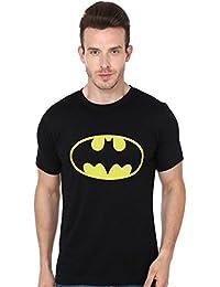 Fashion Fakir Men's Batman Printed 100 % Cotton Casual Wear T-shirt