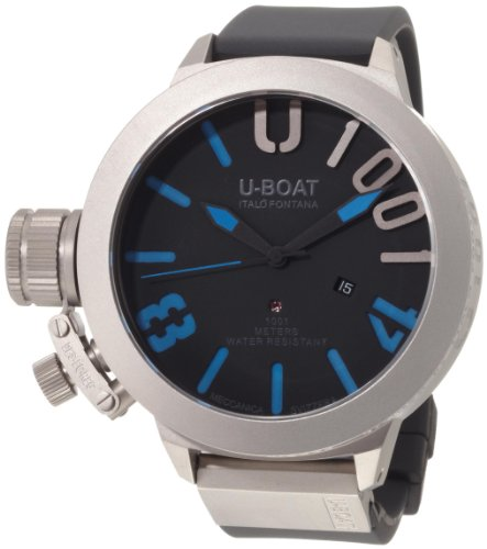 U-Boat 2280 - Reloj para hombres, correa de goma