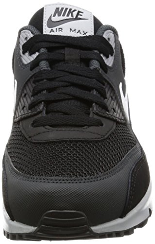Nike Herren Air Max 90 Essential Sneakers, Schwarz (Black/White/Anthracite/Wolf Gr), 44 EU -