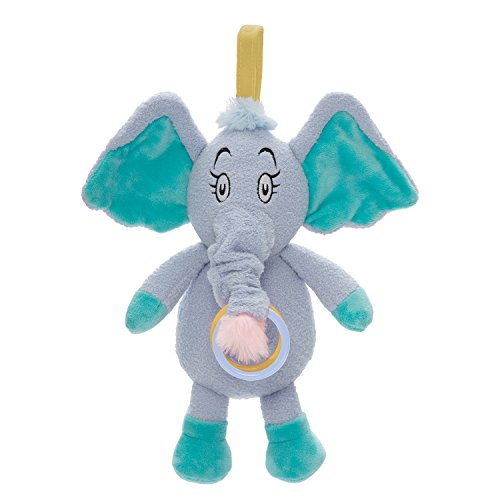 Manhattan Toy Dr. Seuss Horton Pull Musical Travel Toy & Teether by Manhattan Toy
