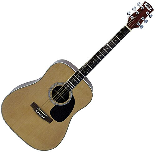 HARLEY DALLAS WT80 NATURAL GUITARRA ACUSTICA