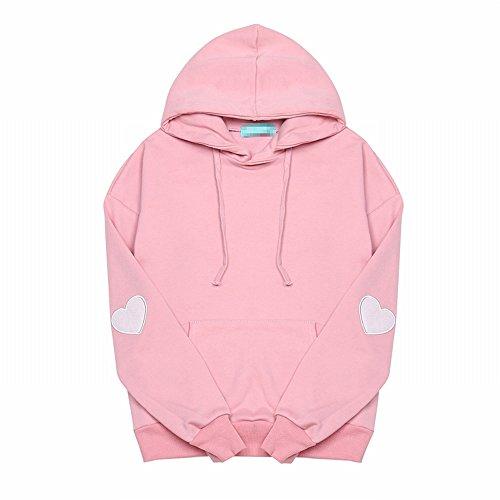 erbst und Winter Pullover Kit und Long Pullover Shirt, Code, Rosa (Hässliche Pullover-kit)