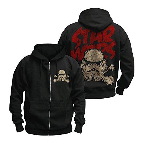 Bravado Star Wars Death Trooper-Felpa con cappuccio taglia M maglione felpa giacca con cappuccio con chiusura lampo
