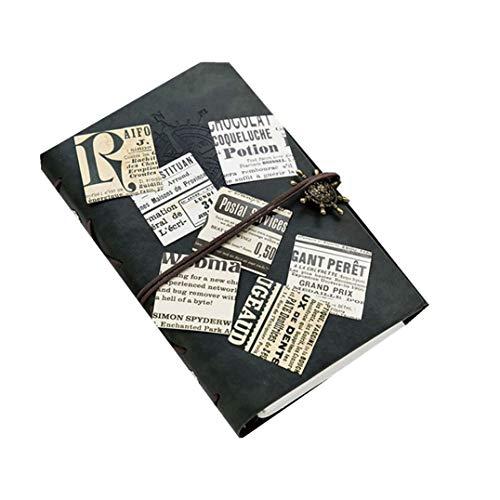 Weryffe Vintage Zeitung Dekorative Aufkleber Selbstklebend Scrapbook Sticker Kunsthandwerk Und Geschenkpapier Bullet Journals Aufkleber (Nostalgische Zeitung)