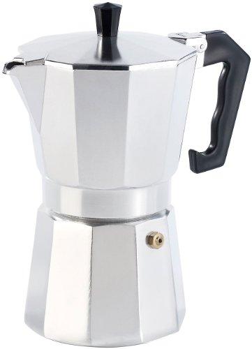 Cucina di Modena Espresso-Kaffeebereiter: Espressokocher für 6 Tassen, für Gas-, Elektro- und Ceran-Feld