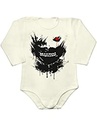 Portrait With Black Eye Baby Long Sleeve Romper Bodysuit
