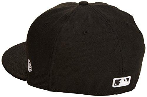 New Era Erwachsene Baseball Cap Mütze MLB Basic NY Yankees 59 Fifty Fitted nero (Black)