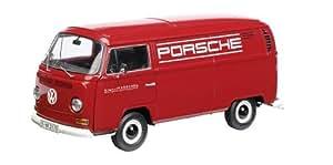 Schuco 450017000–VW T2a Porsche modèle de collection, camions, 1: 18