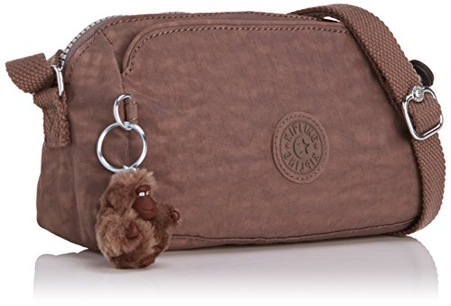 Kipling - New Abela - Sac bandoulière - Femme Marron (Monkey Brown)